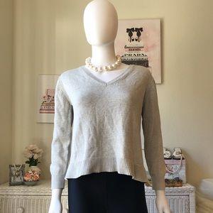 Everlane grey cotton sweater XS